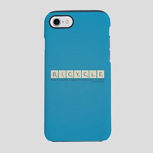 Scrabble Bicycle Million Poi iPhone 8/7 Tough Case