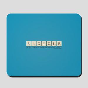 Scrabble Bicycle Million Points Mousepad