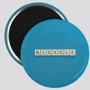 Scrabble Bicycle Million Points Magnet