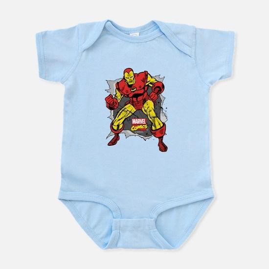 Iron Man Ripped Onesie
