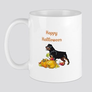 Happy Halloween Rottweiler Mug
