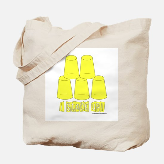 Cup stacking Tote Bag