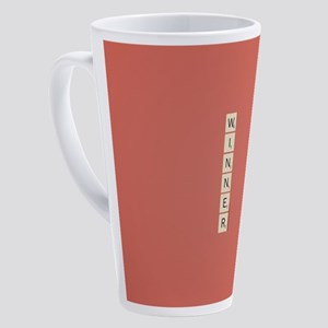 Scrabble Winner 17 oz Latte Mug