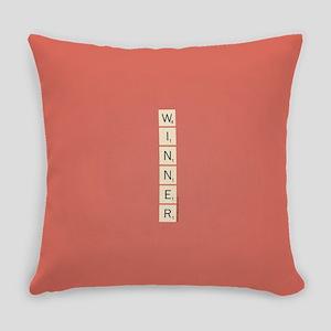 Scrabble Winner Everyday Pillow