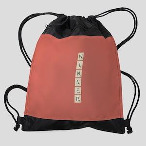Scrabble Winner Drawstring Bag