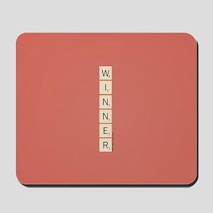 Scrabble Winner Mousepad
