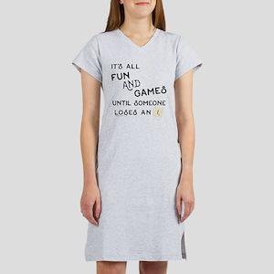 Scrabble Fun and Games Women's Nightshirt