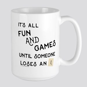 Scrabble Fun and Games 15 oz Ceramic Large Mug