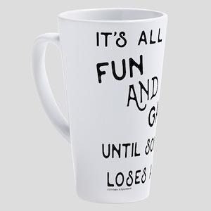 Scrabble Fun and Games 17 oz Latte Mug