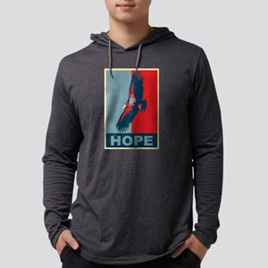 Hope: California Condor Birding T-Shirt Long Sleev