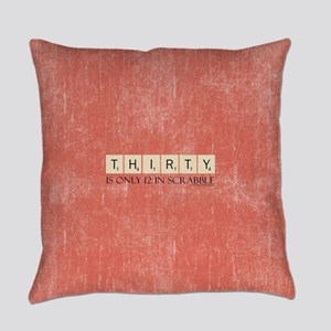 Scrabble Thirty Only 12 Everyday Pillow