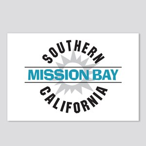Mission Bay California Postcards (Package of 8)