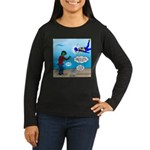 Zombie SCUBA Women's Long Sleeve Dark T-Shirt