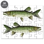 Kafue African pike Puzzle