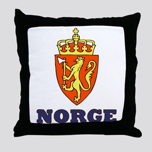NORGE Throw Pillow