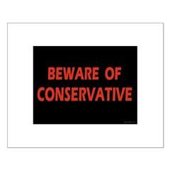 Beware of Conservative Posters