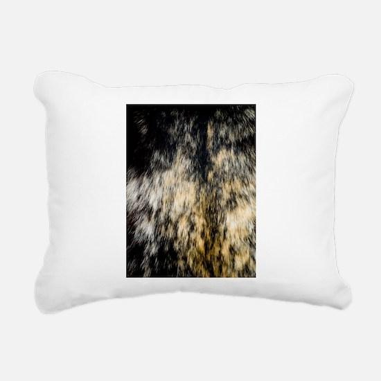 Tortie Tortioseshell Cal Rectangular Canvas Pillow