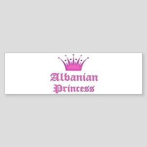 Albanian Princess Bumper Sticker