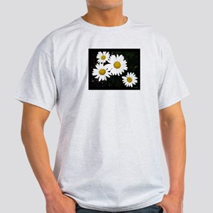 Daisies Ash Grey T-Shirt