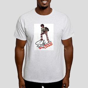 Sly Stone Pose - T-Shirt (ash Grey)