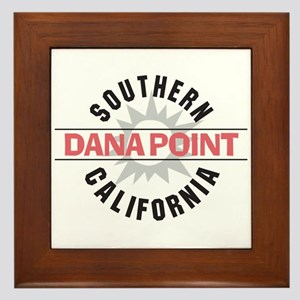 Dana Point California Framed Tile