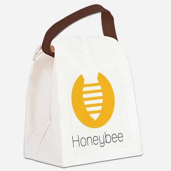 Cute Cute bee Canvas Lunch Bag