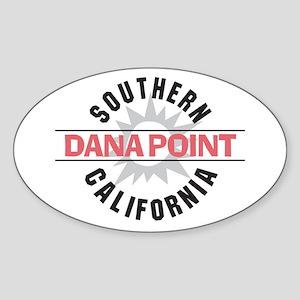 Dana Point California Sticker (Oval)
