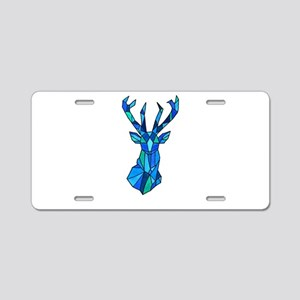 by student Aluminum License Plate