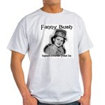 Fanny Bush Cricket Fan Ash Grey T-Shirt
