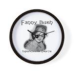 Fanny Bush Cricket Fan Wall Clock