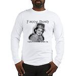 Fanny Bush Cricket Fan Long Sleeve T-Shirt