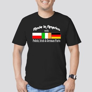 wh-Polish, Irish German Parts T-Shirt