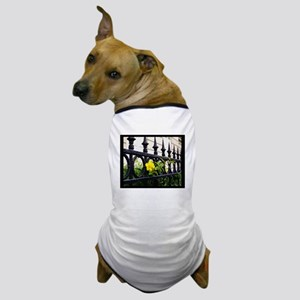 Iron Fence in Paris Dog T-Shirt