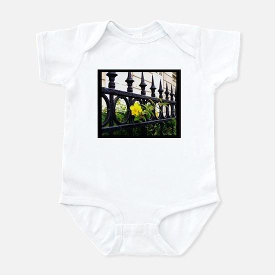 Iron Fence in Paris Infant Creeper