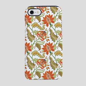 Indian Vintage Floral Pattern iPhone 8/7 Tough Cas