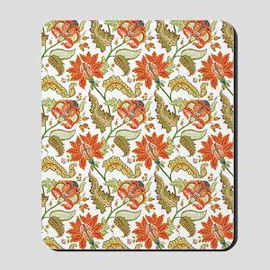 Indian Vintage Floral Pattern Mousepad