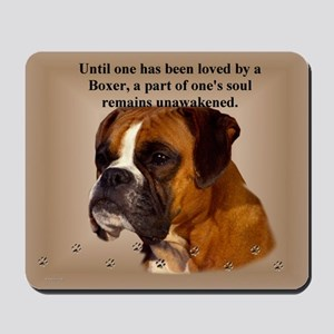 Soft Ear Boxer Mousepad