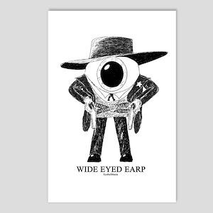 Wide Eyed Earp Postcards (Package of 8)