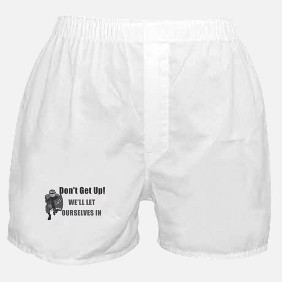 SWAT Dont Get Up Boxer Shorts
