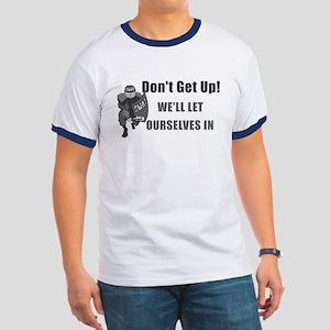 SWAT Dont Get Up Ringer T
