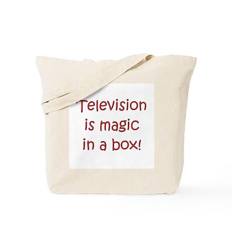 TV Is Magic In A Box! Tote Bag