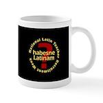 NLTRW Habesne Latinam Mug