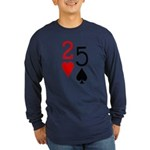 But They're Suited 2-5 Long Sleeve Dark T-Shirt