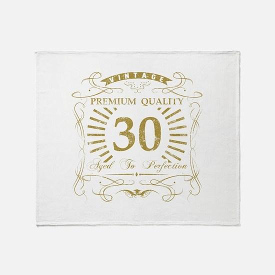 30th Birthday Gag Gift Throw Blanket