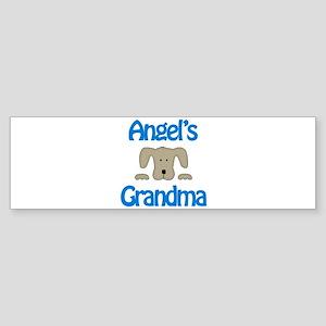 Angel's Grandma Bumper Sticker