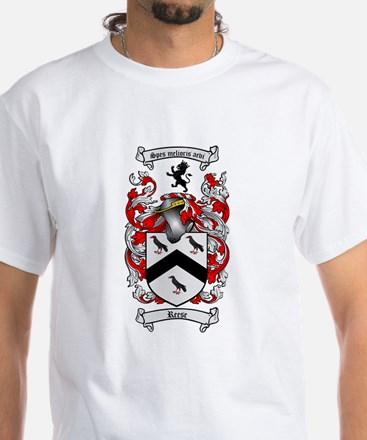 Reese Family Crest White T-Shirt