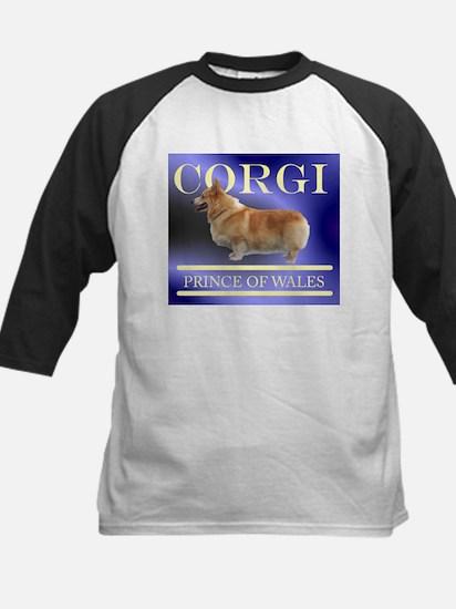 Welsh Corgi Kids Baseball Jersey