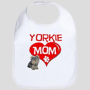 Yorkie Mom Bib