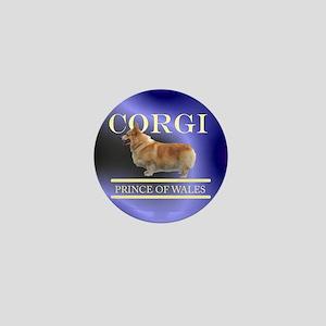 Welsh Corgi Mini Button