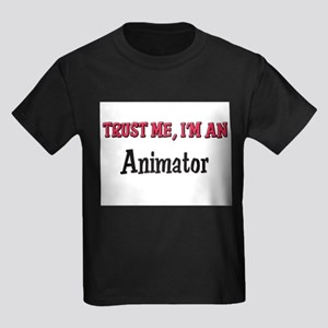 Trust Me I'm an Animator Kids Dark T-Shirt